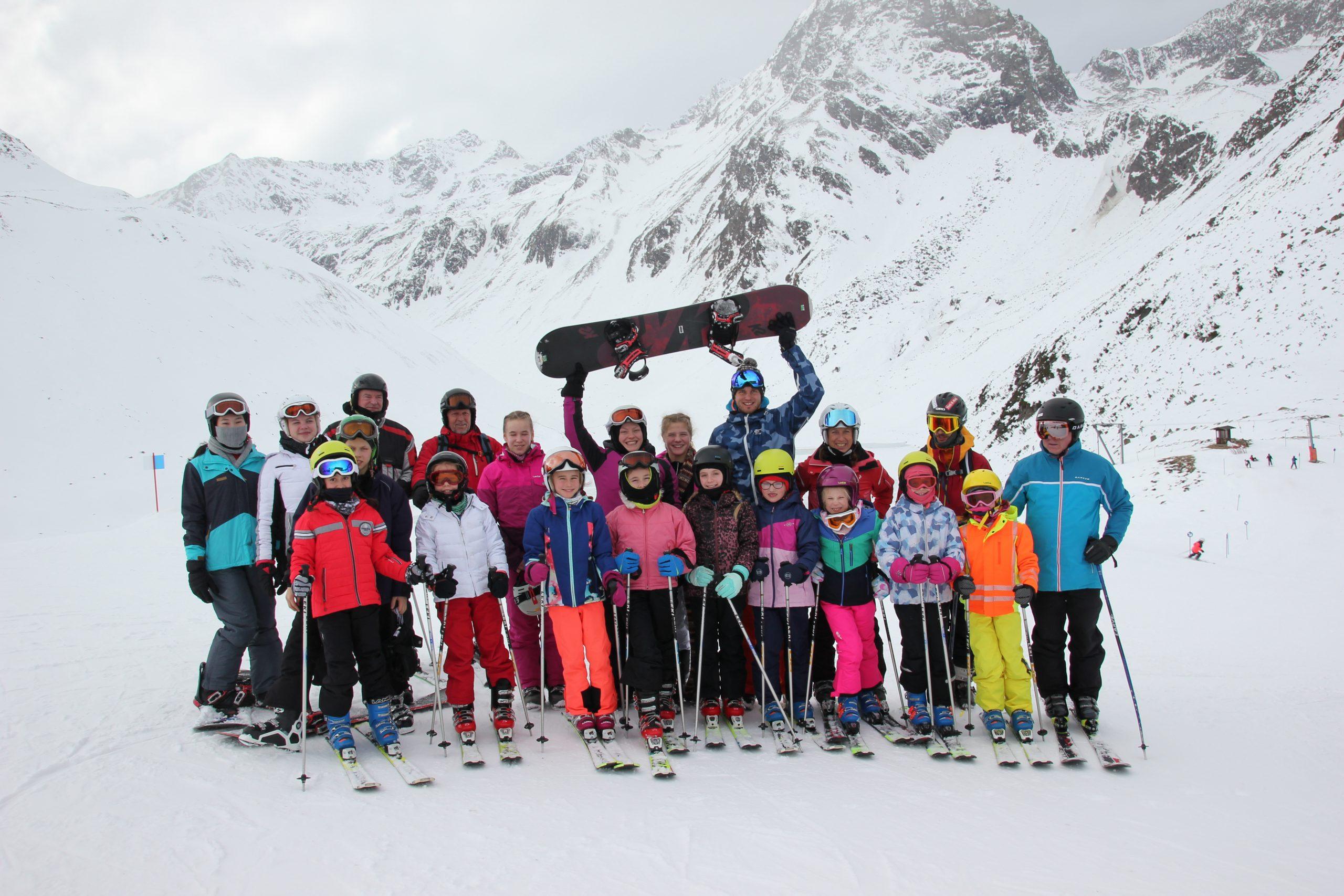 Ski-Trainingslager im Pitztal